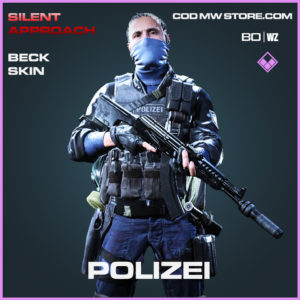 Polizei Beck skin in Cold War and Warzone