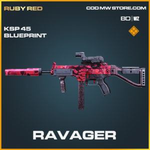 Ravager KSP 45 blueprint skin in Cold War and Warzone