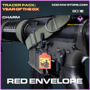 Red Envelope charm in Black Ops Cold War and Warzone