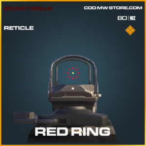Red Ring Reticle in Black Ops Cold War and Warzone