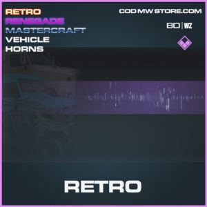 Retro vehicle horns in Black Ops Cold War and Warzone