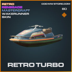 Retro Turbo wakerunner skin in Black Ops Cold War