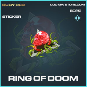 Ring of Doom sticker in Cold War and Warzone