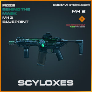 Scyloxes M13 blueprint in Modern Warfare and Warzone