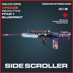 Side Scroller FFAR 1 blueprint skin in Cold War and Warzone