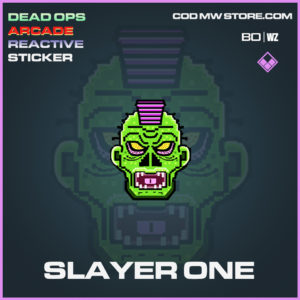 Slayer One STicker in Cold War and Warzone