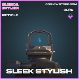 Sleek Stylish reticle in Cold War and Warzone