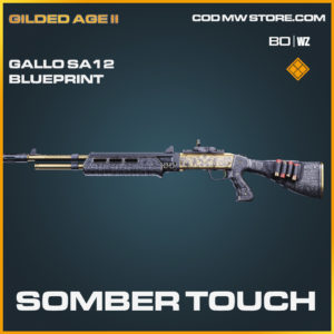Somber touch gallo sa12 skin blueprint in Cold War and Warzone