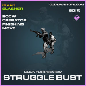 Struggle Bust Finishing Move in Cold War and Warzone