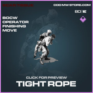 Tight Rope finishing move in Black Ops Cold War and Warzone