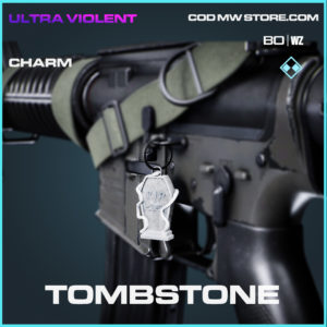 Tombstone charm in Black Ops Cold War and Warzone