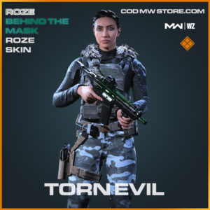 Torn Evil Roze skin in Modern Warfare and Warzone