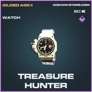 Treasure Hunter Watch in Cold War and Warzone