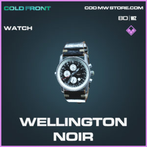 Wellington Noir Watch in Black Ops Cold War and Warzone