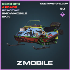 Z Mobile Snowmobile skin in Cold War