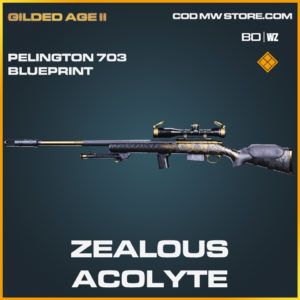 Zealous Acolyte Pelington 703 skin blueprint in Cold War and Warzone