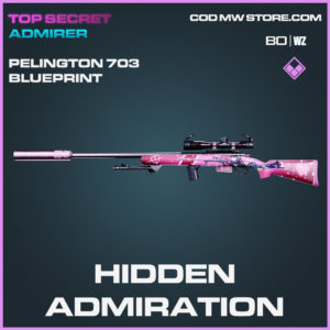 hidden admiration pelington 703 blueprint in Black Ops Cold War and Warzone