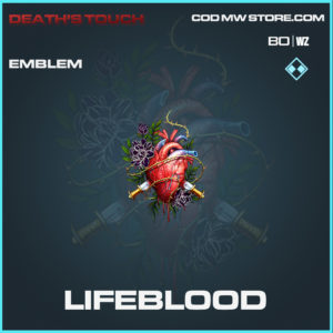 lifeblood emblem in Black Ops Cold War and Warzone