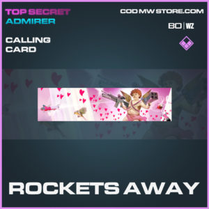 rockets away calling card in Black Ops Cold War and Warzone