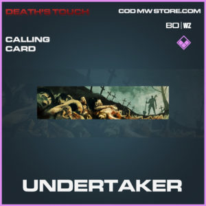 udnertaker calling card in Black Ops Cold War and Warzone