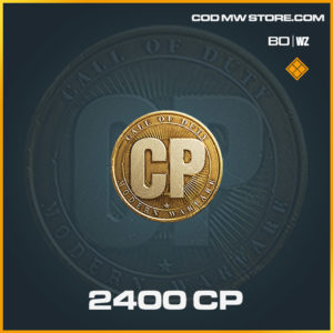2400 CP in Cold War and Warzone