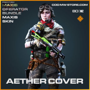 Aether Cover Samantha Maxis Skin in Cold War and Warzone
