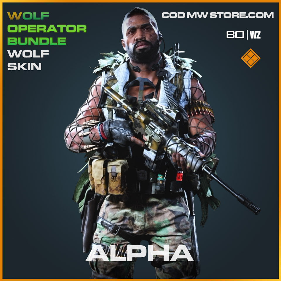 Alpha Wolf Skin in Cold War and Warzone
