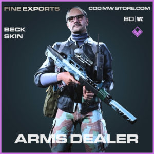 Arms Dealer Beck skin in Cold War and Warzone