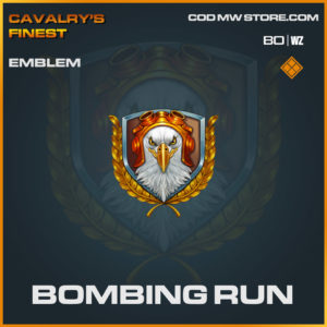Bombing Run emblem in Cold War and Warzone