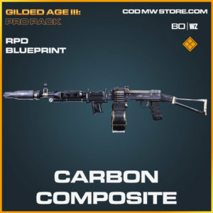 Carbon Composite rpd blueprint skin in Cold War and Warzone