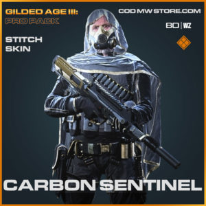 Carbon Sentinel Stitch skin in Cold War and Warzone