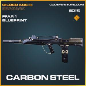 Carbon Steel FFAR 1 blueprint skin in Cold War and Warzone