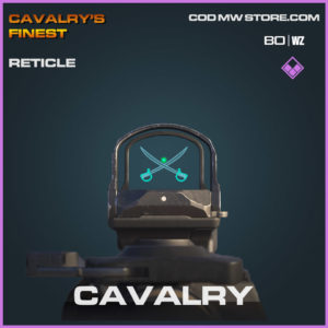 Cavalary Reticle in Cold War and Warzone