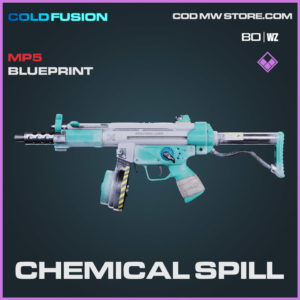 Chemical Spill MP5 blueprint skin in Cold War and Warzone