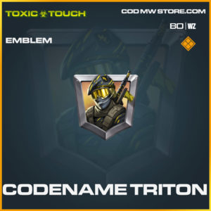 Codename Triton emblem in Cold War and Warzone