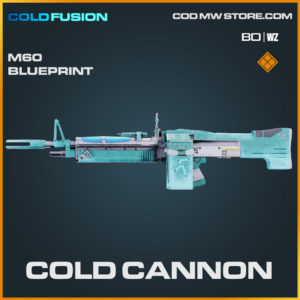 Cold Cannon M60 blueprint skin in Cold War and Warzone