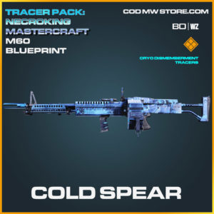 Cold Spear M60 blueprint skin in Cold War and Warzone