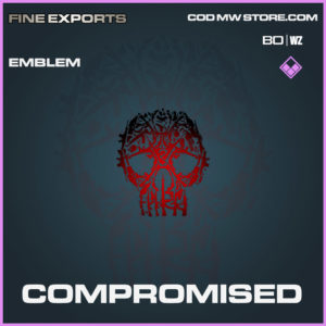 Compromised emblem in Cold War and Warzone
