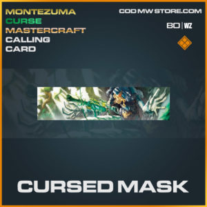 Cursed Mask calling card in Cold War and Warzone