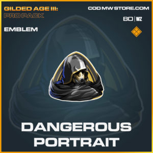 Dangerous Portrait emblem in in Cold War and Warzone