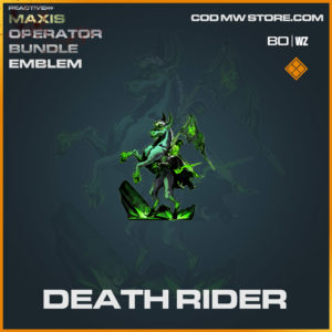 Death Rider emblem in Cold War and Warzone