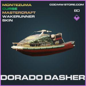 Dorado Dasher wakerunner skin in Cold War and Warzone