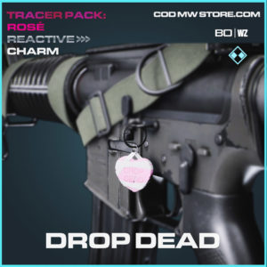 Drop Dead charm in Cold War and Warzone