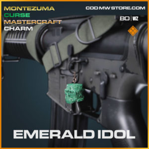 Emerald Idol charm in Cold War and Warzone