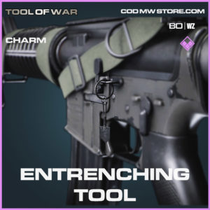 Entrenching Tool charm in Cold War and Warzone