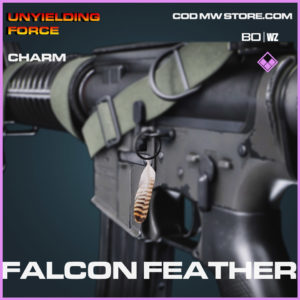 Falcon Feather charm in Cold War and Warzone