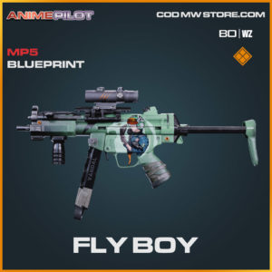 Fly Boy MP5 blueprint skin in Cold War and Warzone