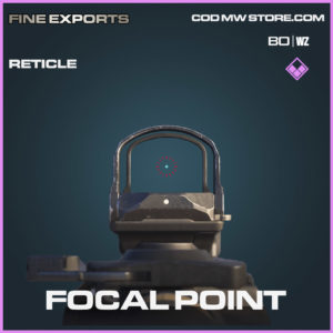 Focal Point reticle in Cold War and Warzone