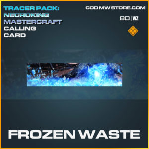 Frozen Waste calling card in Cold War and Warzone
