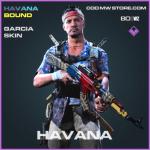 Garcia Skin in Cold War and Warzone